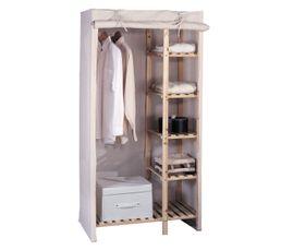 Portants & Penderies - Housse armoire ALIX Ecru