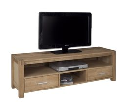 Meuble tv chicago chene naturel vendu par but 1174271 - Meuble tv en chene naturel ...