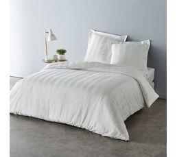 HC 260x240 + 2 TO 75x75 cm DOUCEUR Blanc