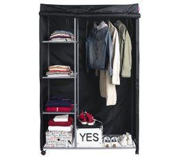 Housse armoire penderie ASTUS 2 Noir