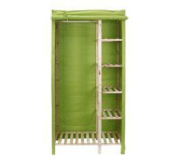 housse armoire alix vert portants penderies but. Black Bedroom Furniture Sets. Home Design Ideas
