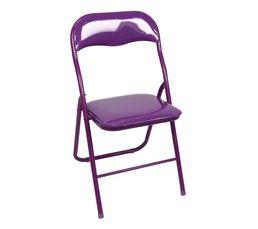 Chaise pliante GLOSS Violet