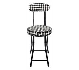 Chaise pliante CINDY Noir/Blanc