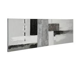 Toile peint 50X150 GREY LAGON