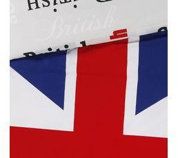 Housse de couette 140x200 + 1 Taie d'oreiller 65x65 BRITISH imprim�