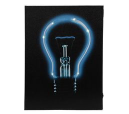 Toiles - Toile 30X40 LED LIGHT Bleu