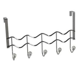 Portes-manteaux - Patère 5 branches STRASS Chrome