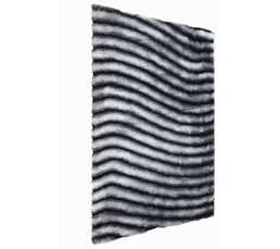 Tapis 160x230 cm NEVADA Gris/blanc