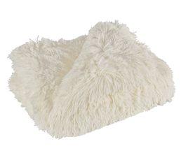 Plaids - Plaid 130x160 cm ALASKA blanc