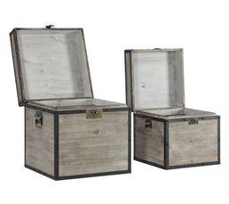 Coffres & Malles - Set de 2 boîtes ATELIER Gris