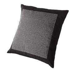 Coussin 40x40 cm JENNY noir