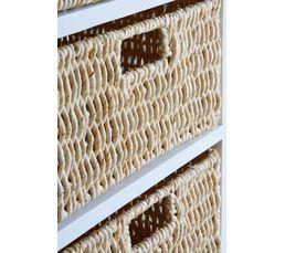 Rangement 4 tiroirs NATURA 2 Blanc