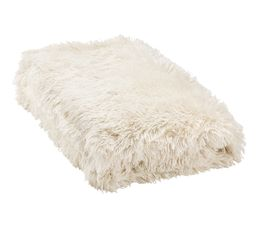 Plaids - Dessus de lit 240x220 cm ALASKA blanc