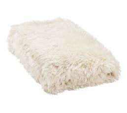 Dessus de lit 240x220 cm ALASKA blanc
