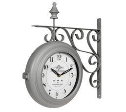 POTENCE Horloge Gris