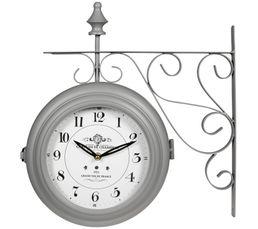 Horloge POTENCE Gris