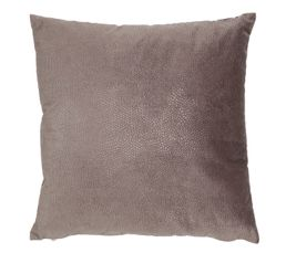 Coussin 45x45 cm SNAKE taupe