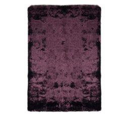 SILKY Tapis 120x170 cm prune
