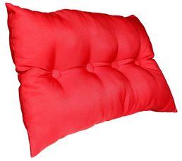 Coussin 40x60 cm CAPITON rouge