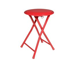 Tabouret pliant GLOSS rouge