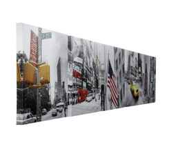 Set de 5 toiles 24X24 URBAN NYC