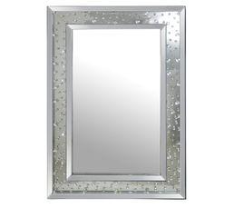 achat miroir carr rond ou rectangulaire acheter miroir cisel mosa que et girafe sur. Black Bedroom Furniture Sets. Home Design Ideas