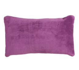 Coussin 30x50 cm COCOON prune