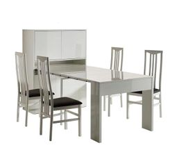 Tables - Bahut / table extensible ASTUS Blanc