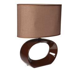 Lampes � Poser - LAMPE A POSER ATHEA MARRON