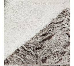 Plaid 130x160 cm UGO marron