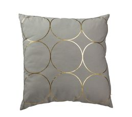 RING Coussin 45 x 45 cm gris