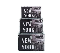 Set de 3 malles GOTHAM Noir/Blanc