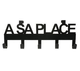 Portes-manteaux - Patère A SA PLACE Noir