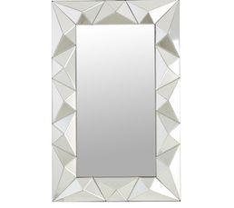 Miroirs - Miroir 70X110 DANDY Argent