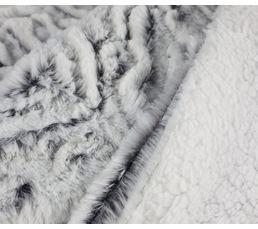 Plaid 130x160 cm UGO gris
