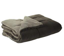 Plaids - Dessus de lit 140x200 cm COCOON gris