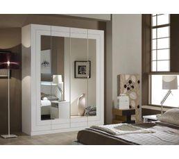 Armoires - Armoire 4 portes ALASKA blanc