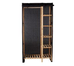 housse penderie ingenius noir portants penderies but. Black Bedroom Furniture Sets. Home Design Ideas