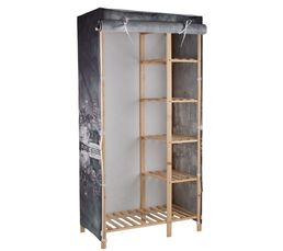 Housse Penderie Tissu Free Free Catgories With Armoire