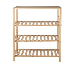 Portants & Penderies - Structure commode bois INGENIUS Naturel
