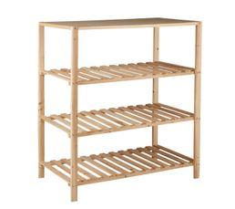 structure commode bois ingenius naturel pas cher avis et prix en promo. Black Bedroom Furniture Sets. Home Design Ideas