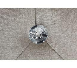 Pouf Ø 34 - H. 35 cm DIAMANT 2 Gris