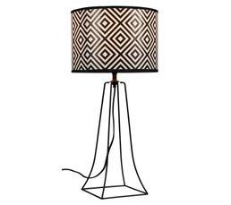 Lampes à Poser - Lampe à poser LOZA Noir