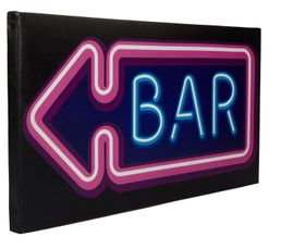 Toiles - Toile LED BAR Multicolore