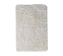 ALASKA Tapis 60X90 cm Blanc