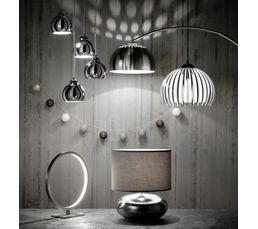 suspension pensee noir et blanc suspensions but. Black Bedroom Furniture Sets. Home Design Ideas