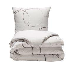 housse de couette 140x200 1 circle imprim linge de lit but. Black Bedroom Furniture Sets. Home Design Ideas