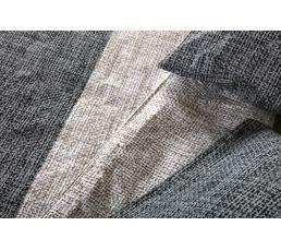 Housse de couette 240x220 + 2 ILLUSION gris