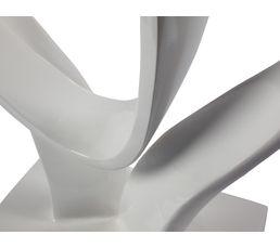Statue COEUR Blanc