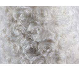 Coussin 40x40 Rosa blanc